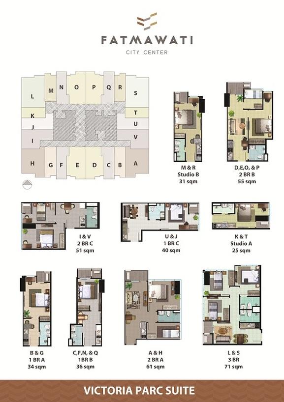Apartemen Fatmawati City Center Di Jual