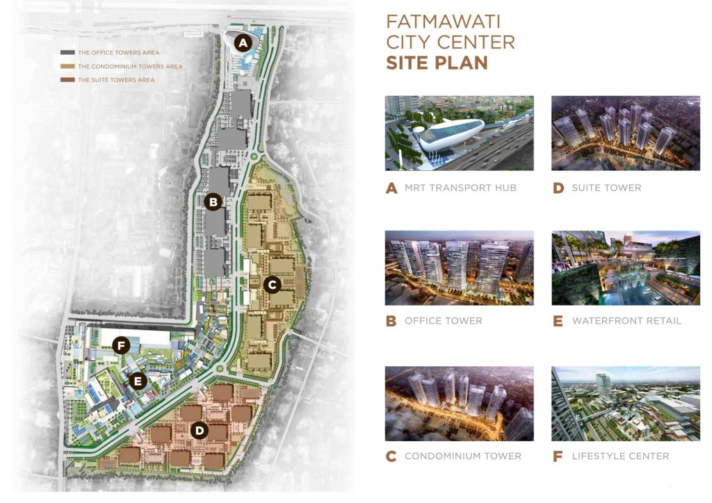 apartemen fatmawati city center daerah khusus ibukota jakarta
